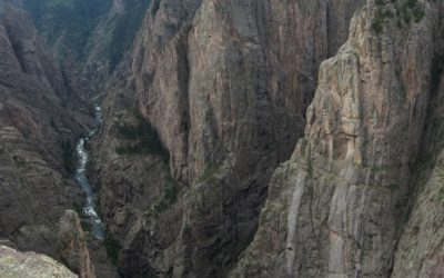 The Black Canyon of the Gunnison National Park (North Rim), Colorado