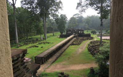 Terrace of the Elephants, Cambodia